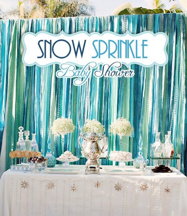 Snow Sprinkle Baby Shower