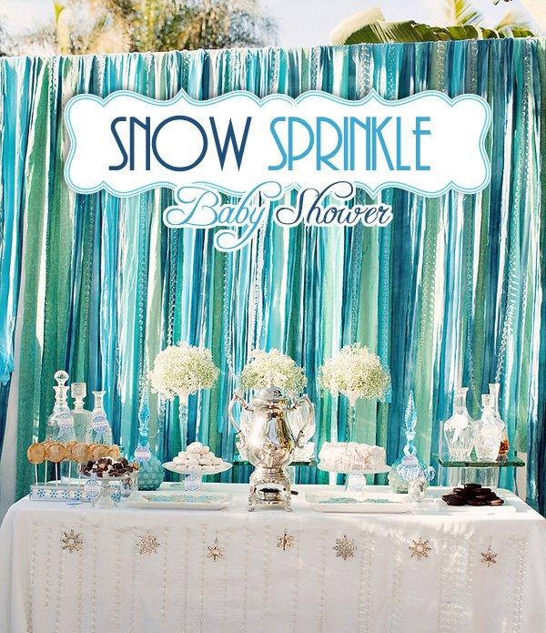 Snow Sprinkle Baby Shower