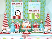 winter candyland birthday party