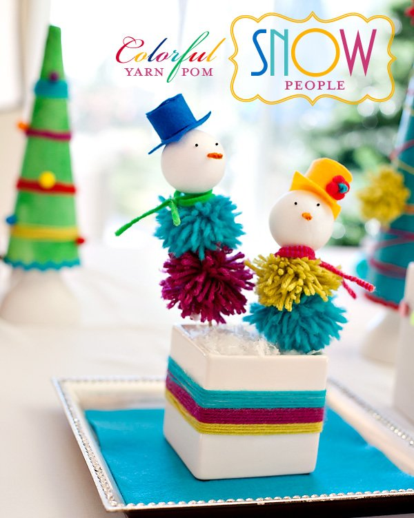holiday snowman kids craft