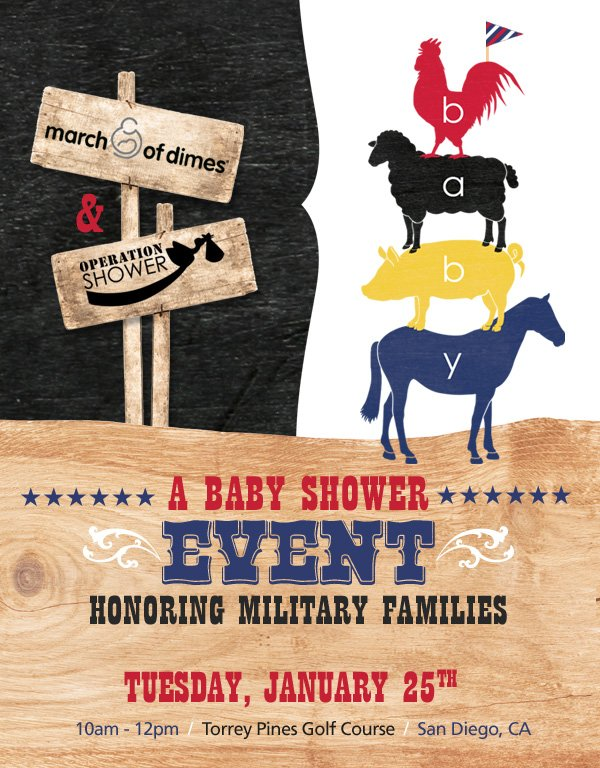 Operation Shower San Diego Event