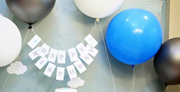 Balloon Themed Birthday Party Ideas