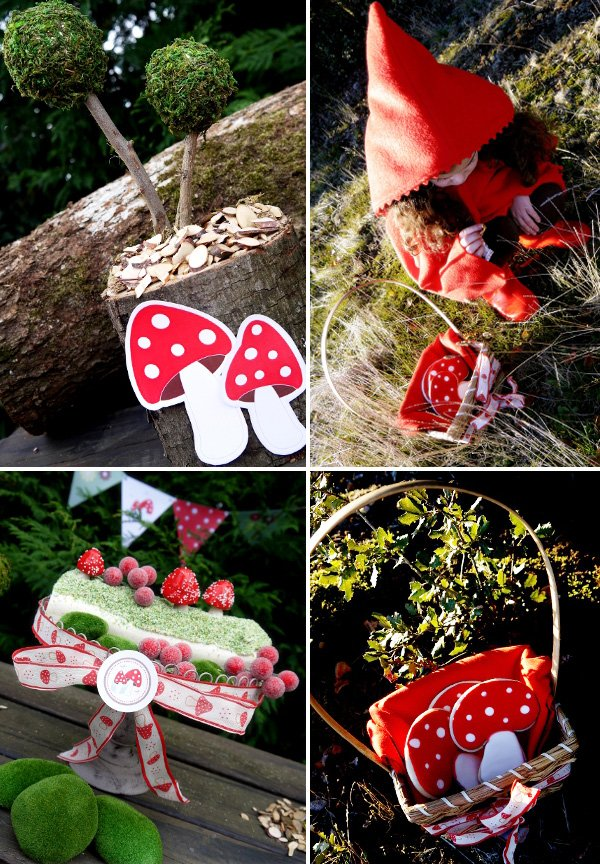 Little Red Riding Hood Woodland Birthday Party