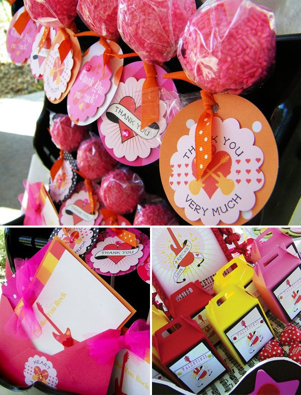 Rockstar Valentine's Day Party Ideas