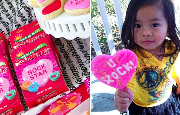 Rockstar Valentine's Day Party Ideas