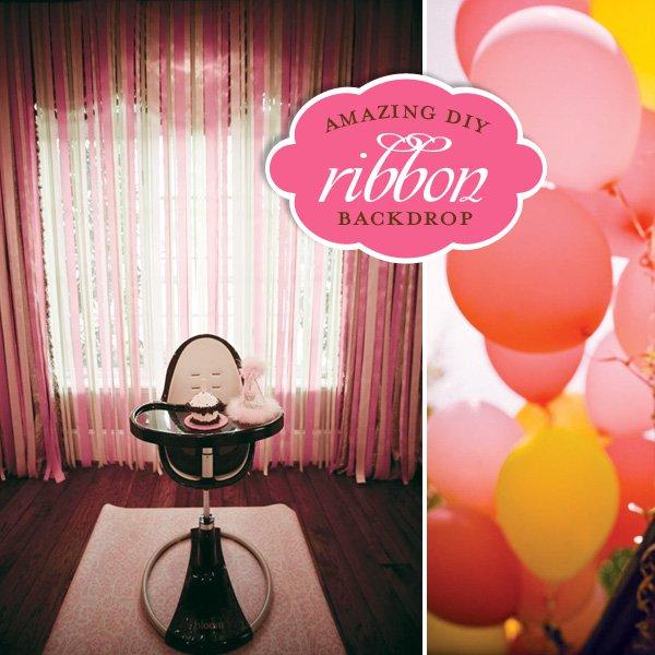 Pink Monkey Birthday Party