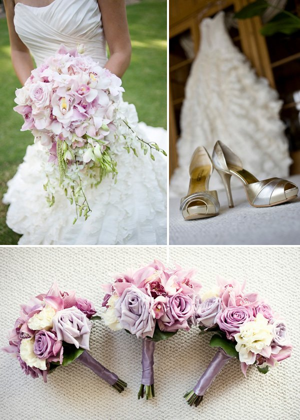 Glam Wedding Ideas - Purple & Pink