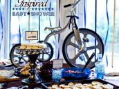 Tricycle Inspired Baby Shower Ideas