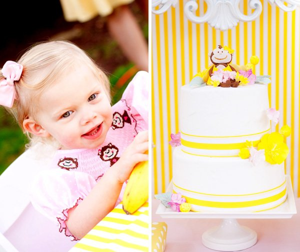 "Little ""Monkey"" Charley and her Adorable Cake"