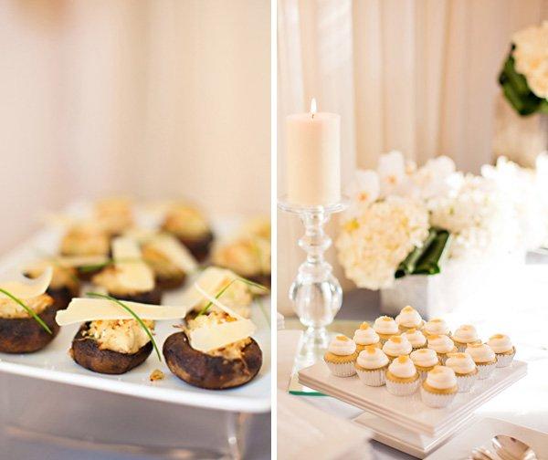 Incredible Looking food at the 5 Senses Bridal Shower