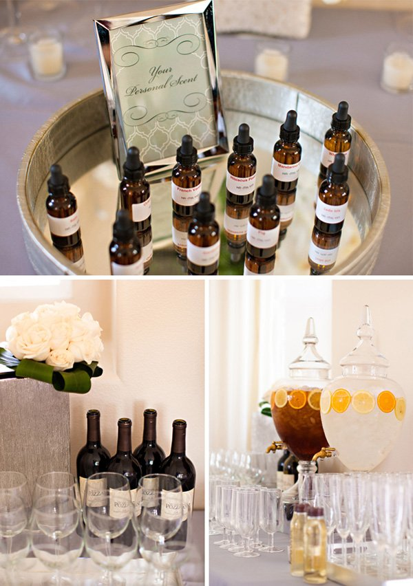 Favors, Drinks, & More
