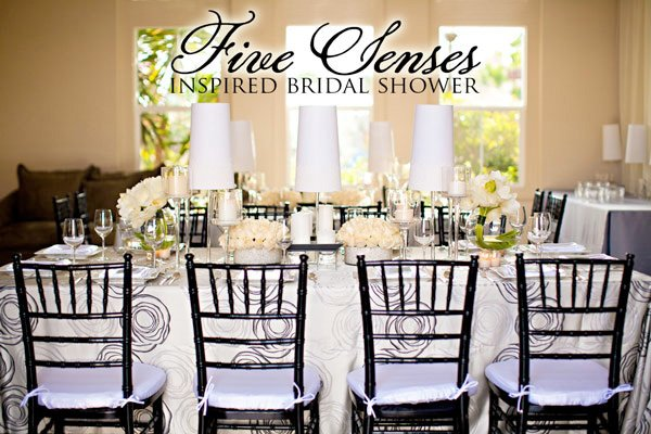 Five Sense Bridal Shower