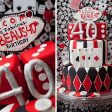 Amazing Fondant Las Vegas Casino Cake