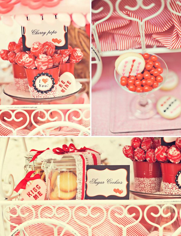 Leopard Lace Love Valentine's Day Party Theme