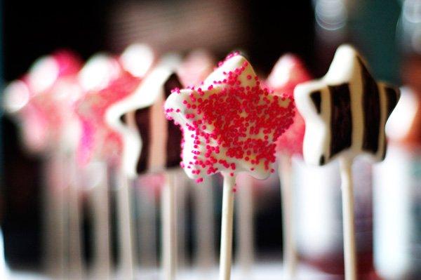 Star Cake Pops