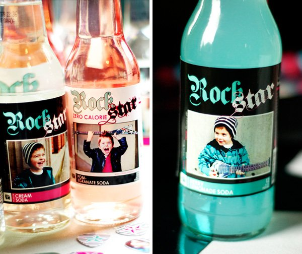 Custom Soda Bottles
