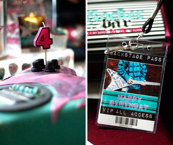 Cake & Backstage Pass