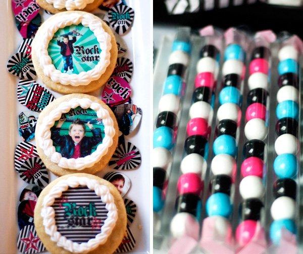 Gum balls + Cookies