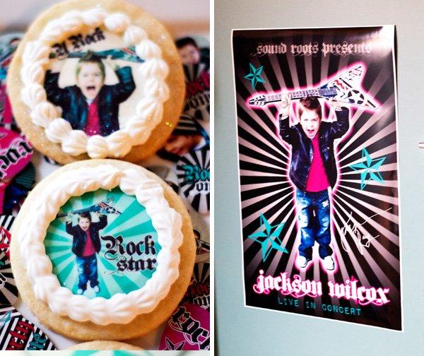 Cookies + Rockstar Poster