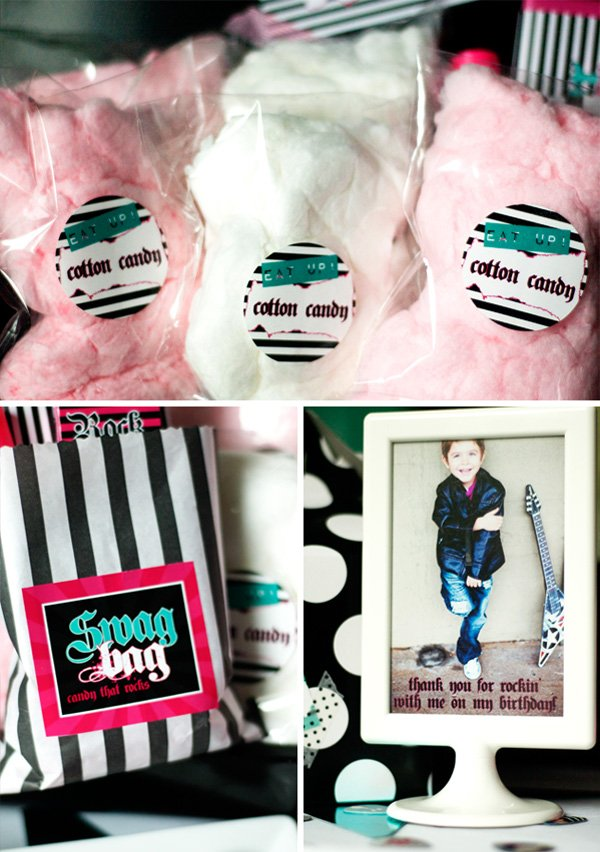 Cotton Candy, Swag Bag, Thank you