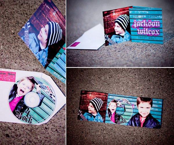Invitation + Custom CD