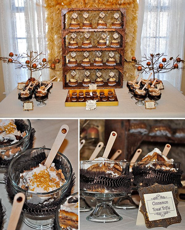 real parties rustic glam baby shower hostess with the mostess