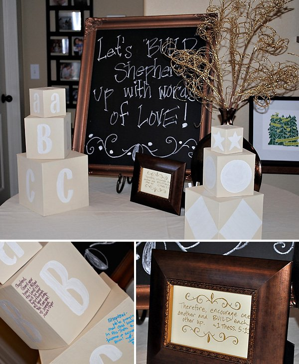 Real Parties Rustic Glam Baby Shower Hostess With The