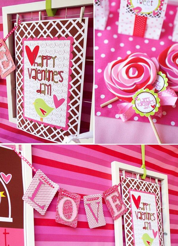 Sweet Tweet Love Birds Valentine's Day Party