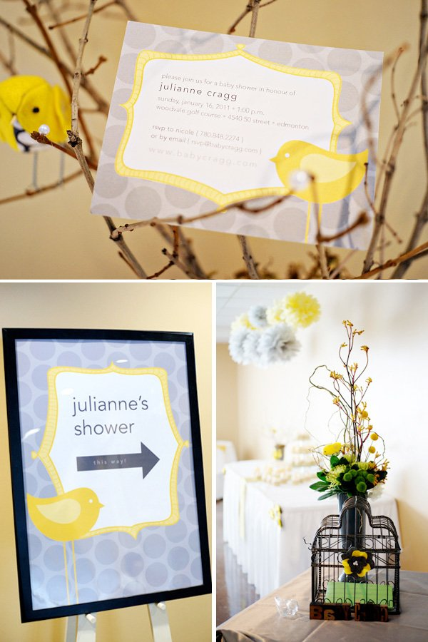 Invitation and Decor