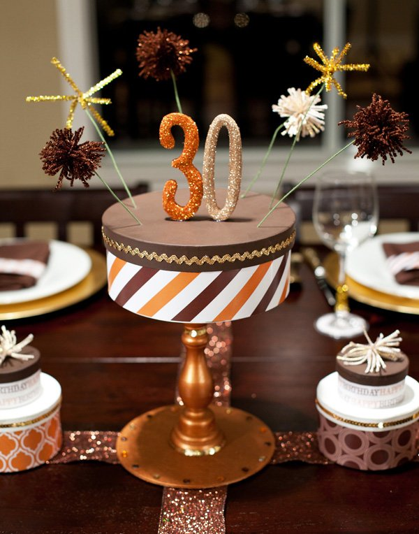 Styled quot chocolate toffee sparkle theme hostess with