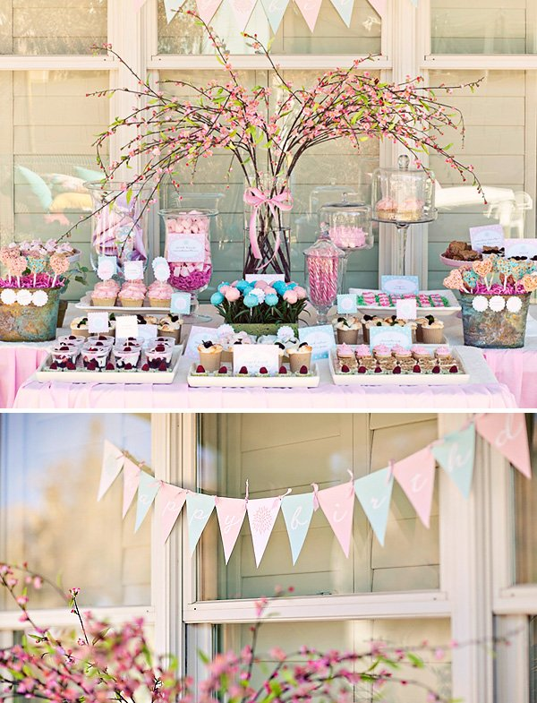 Sweet Lovely Flower Garden Birthday Party Hostess with the Mostess