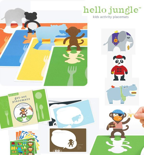 Hello Hannah Activity Placemats