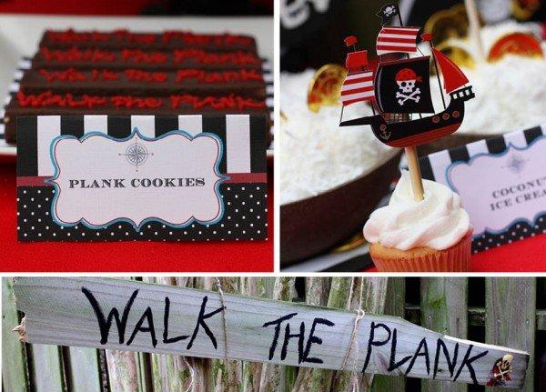 walk the plank pirate birthday ideas