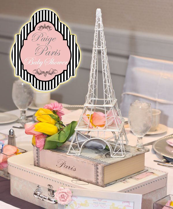 Paige in Paris Baby Shower
