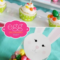 Kids Easty Party Ideas - Egg Decorating