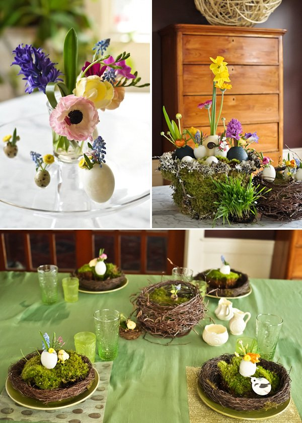 Stylish Easter Table & Florals - Kim Floren