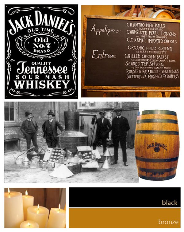 Jack Daniel's inspiration board