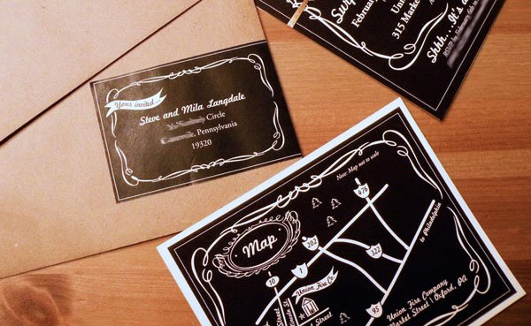 Jack Daniel's invitation, map and directions