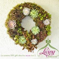 Living Wreath - DIY Tutorial by Kim Foren