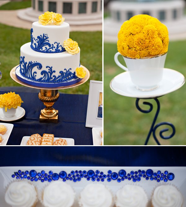 Royal Wedding Dessert Table