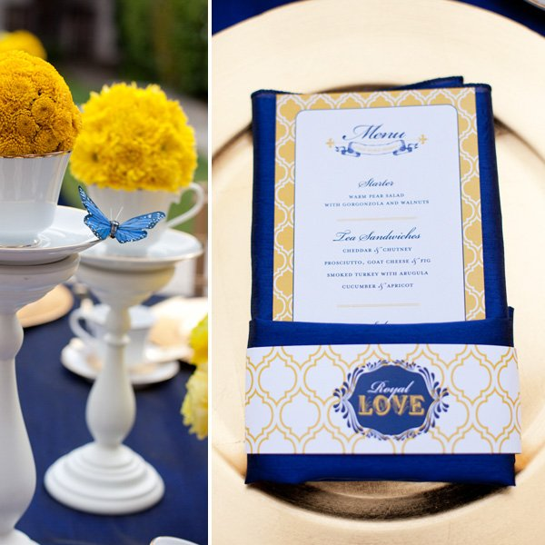 Royal Wedding Inspired Party, Wedding or Bridal Shower