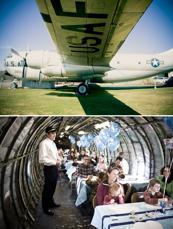 Vintage Airplane Boys Birthday Party