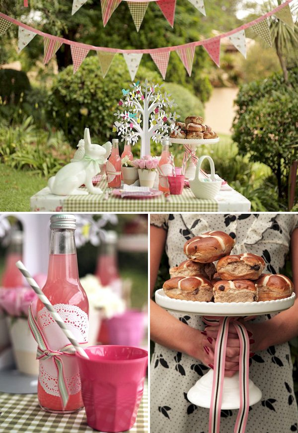 Vintage Shabby Chic Easter Brunch