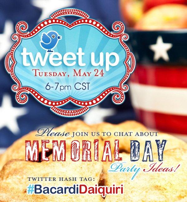 Memorial Day Celebrations Tweet Up