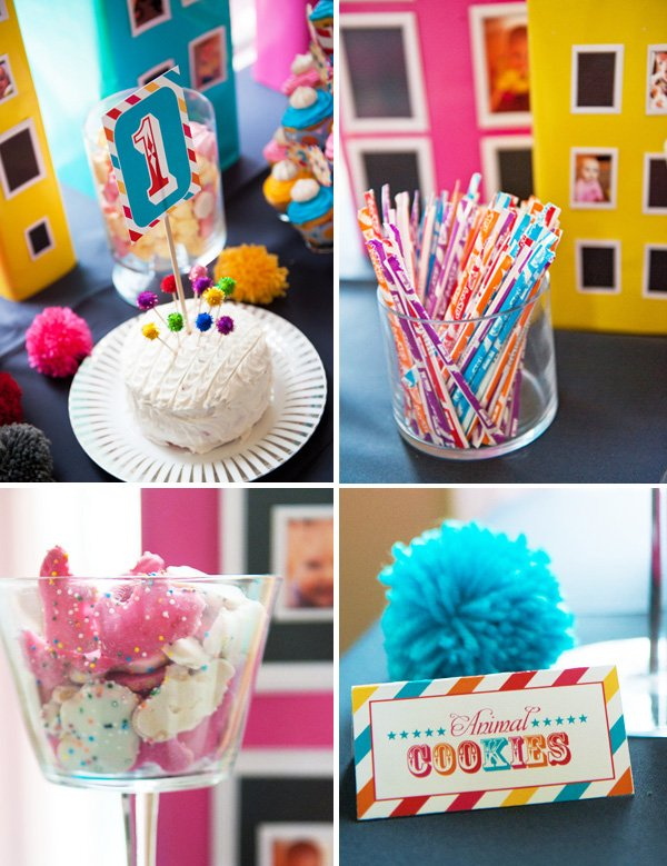 Colorful & Modern First Birthday Parade