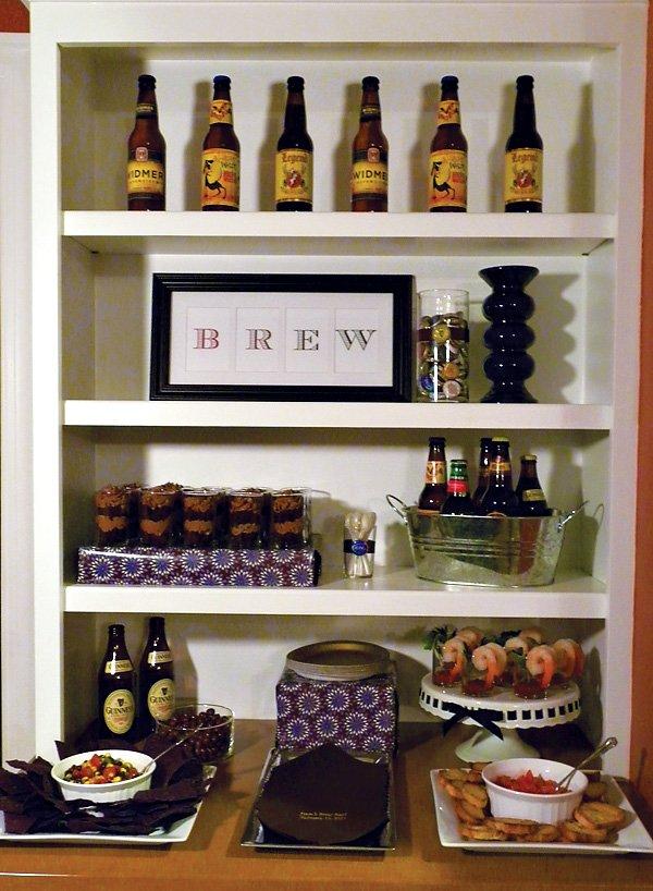 brew bash birthday party ideas