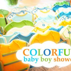 Colorful Boy Baby Shower