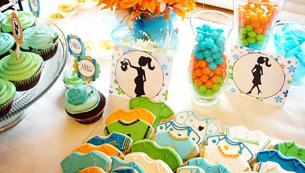 colorful it 39 s a boy baby shower hostess with the mostess