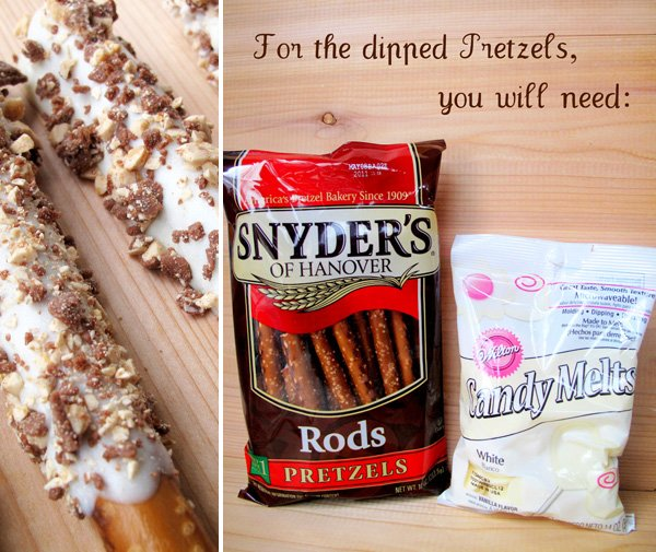 How to Make Chocolate Dipped Pretzels