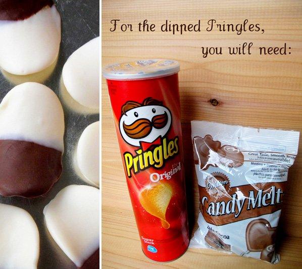Chocolate Dipped Pringles